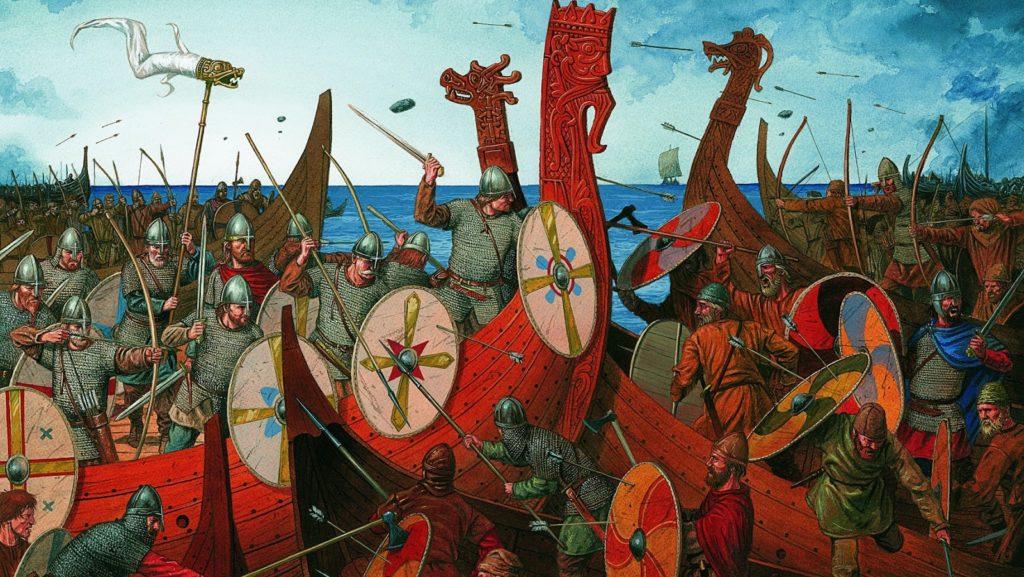 Los vikingos no le temían a la muerte
