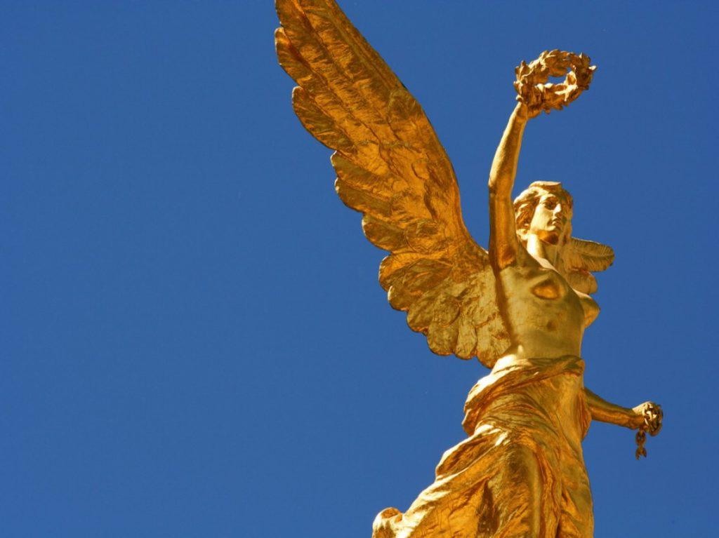 El Ángel es una diosa