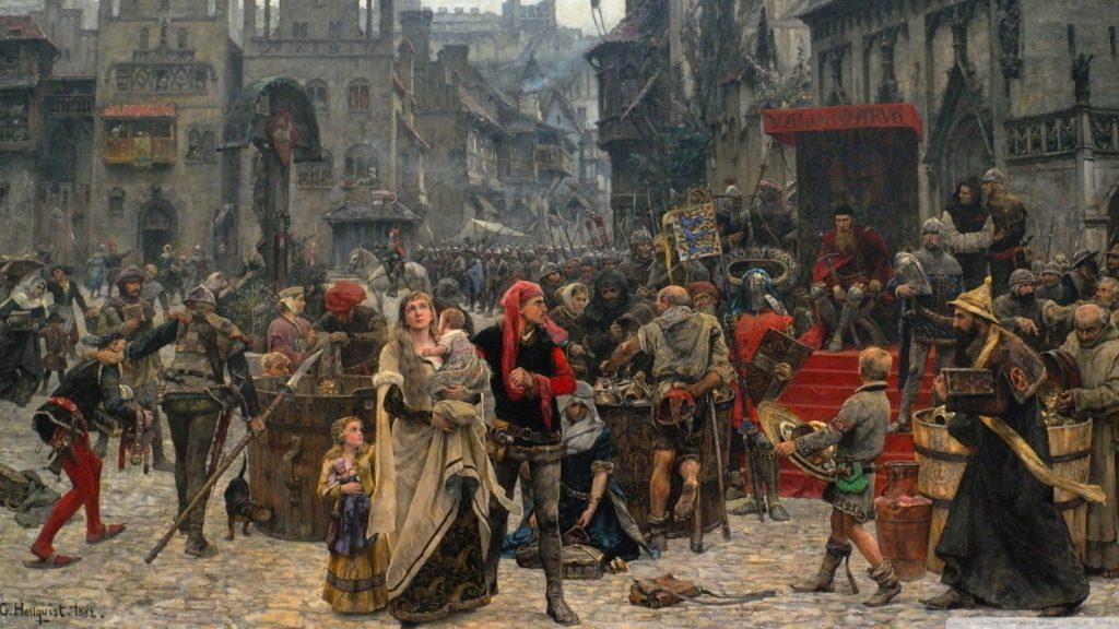 Así era la higiene en la Edad Media
