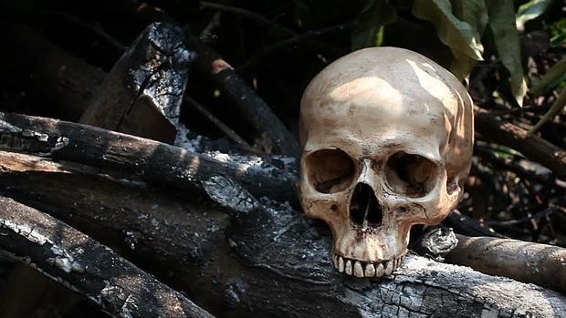 12 esqueletos en Moscú