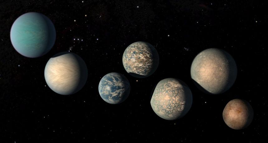 ¿Hay otros planetas con agua?
