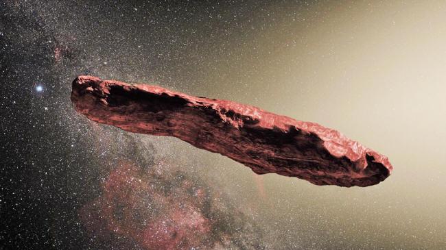Oumuamua, el explorador del exterior