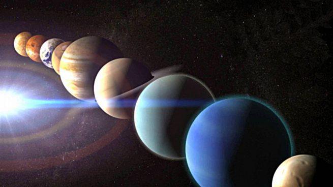 ¿Por qué los planetas son redondos?