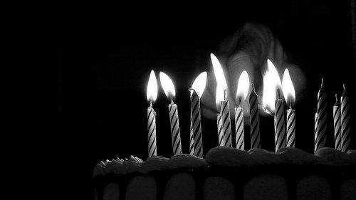 El rito de soplar las velas