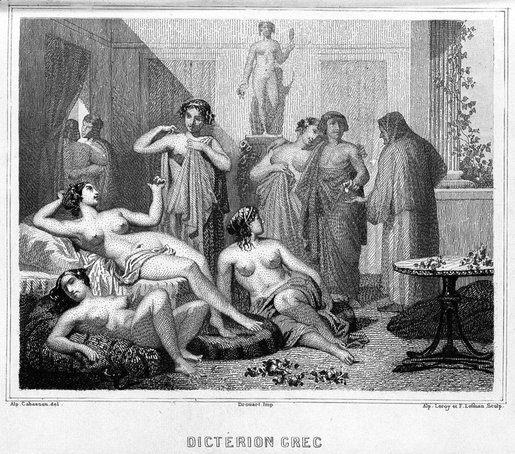 Prostitución a la antigua
