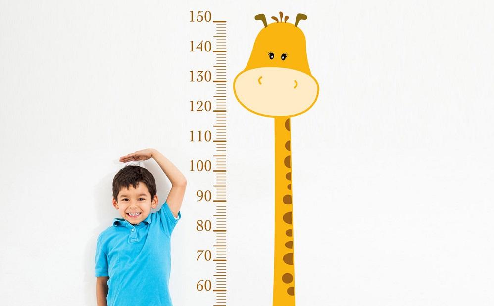 Prosperidad = niños altos