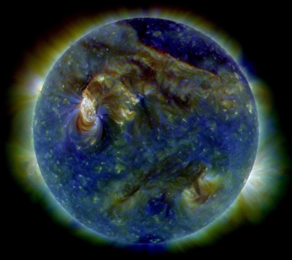 La heliosismología sugiere tiempos inusuales