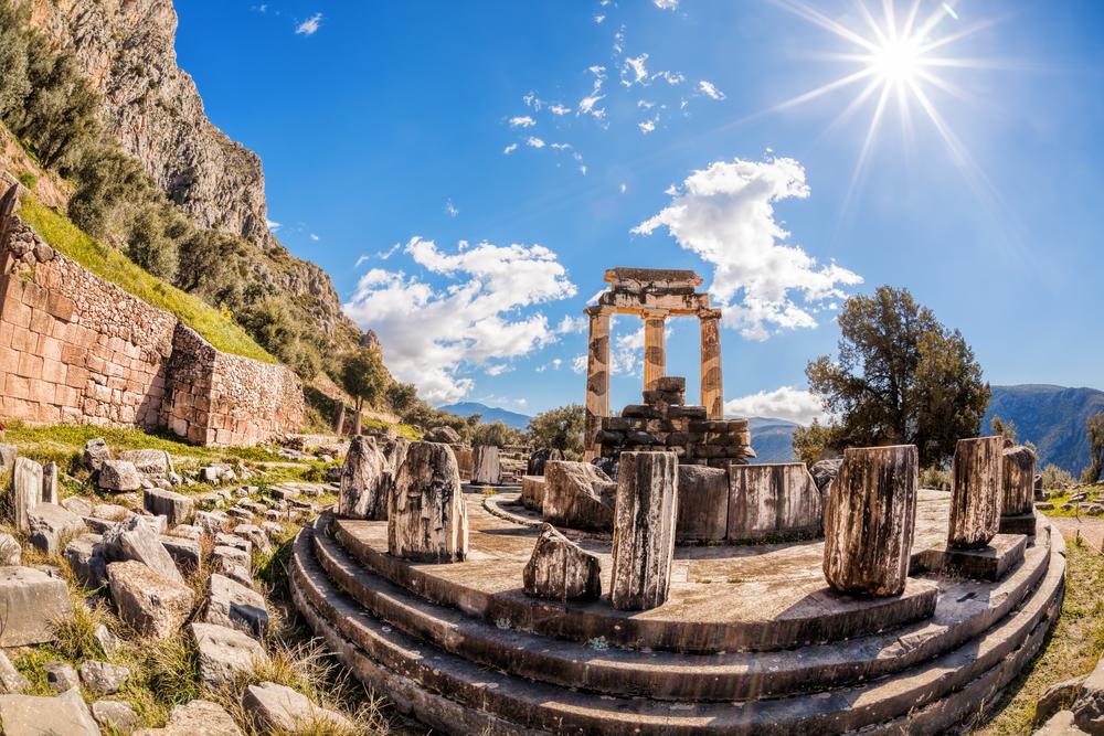 El oráculo de Delfos