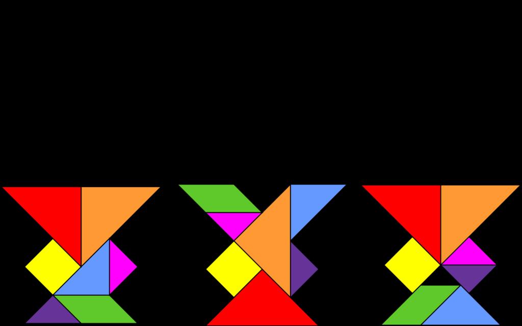 Tangram, el rompecabezas chino