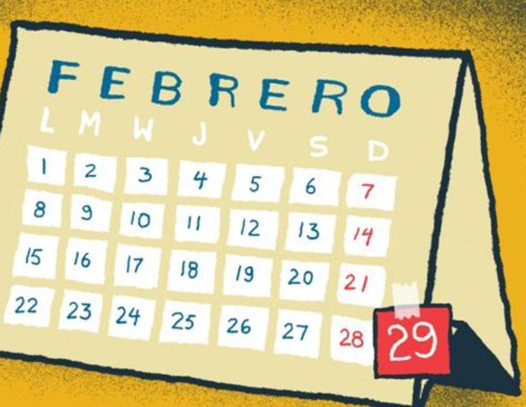Febrero de año bisiesto