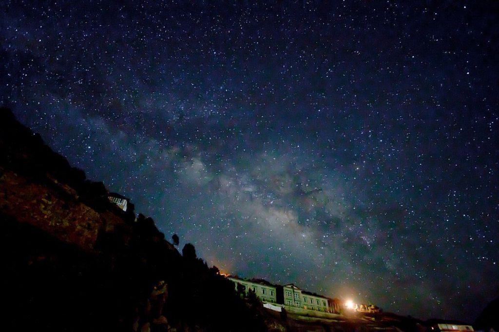 Astroturismo en Sagarmatha